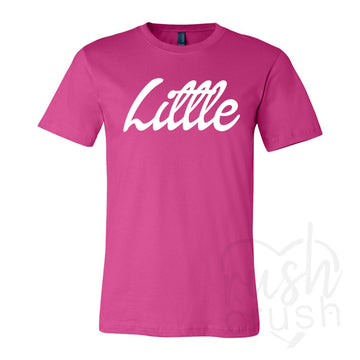 Big and Little - Barbie Font T-Shirt