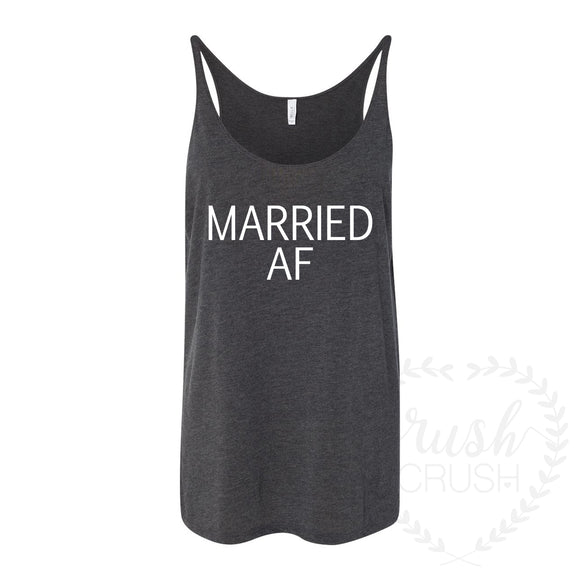 Married AF Slouchy Tank
