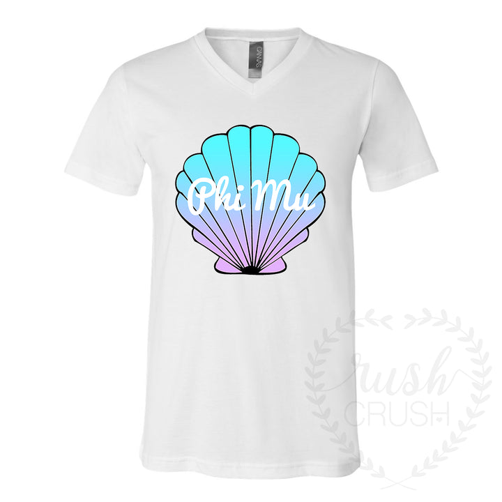 Mermaid Shell Tee *Multiple Organizations Available*