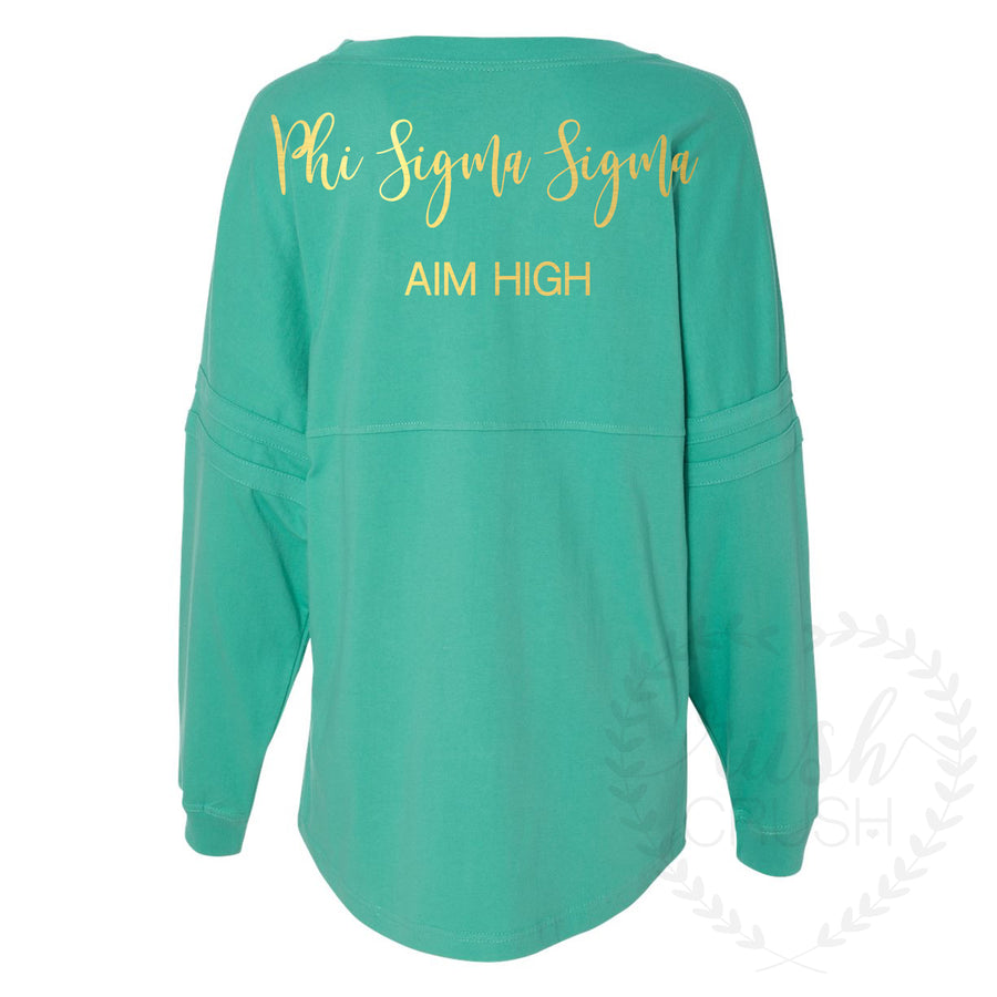 Phi Sig Aim High Game-Day Jersey
