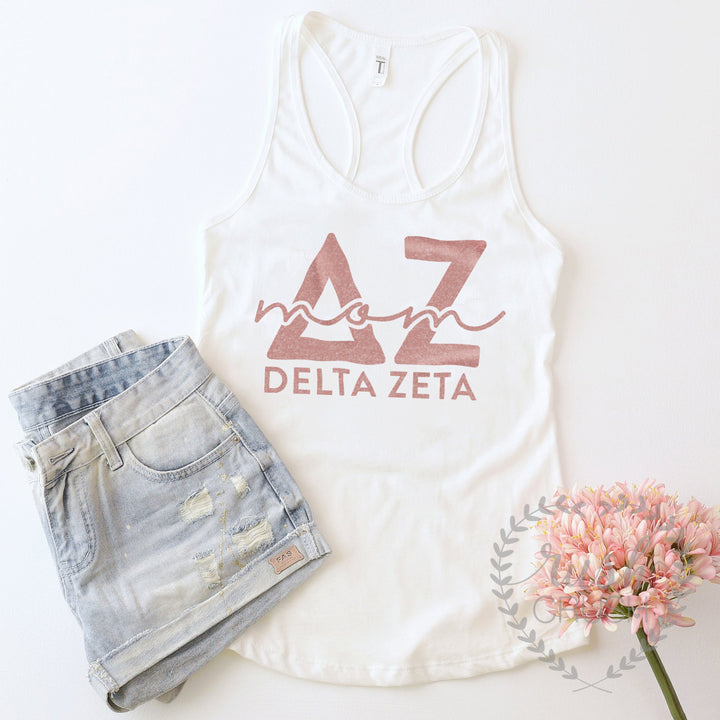 Sorority Mom Tank Top, Available For All Organizations, Mother Daughter Weekend, Mothers Day