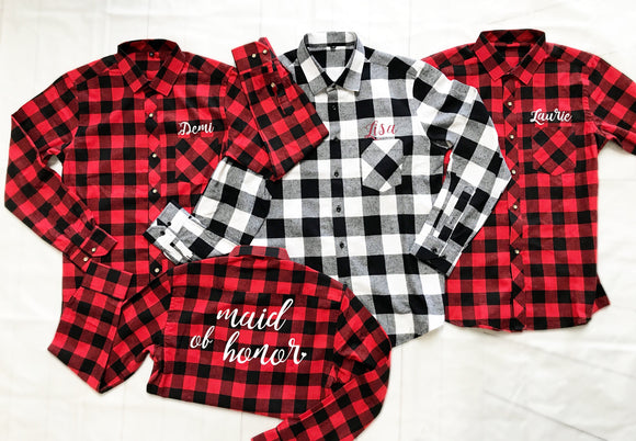 Bridal Party Flannels