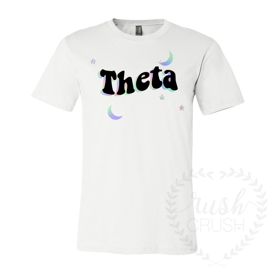 Groovy Holographic Theta Space Tee