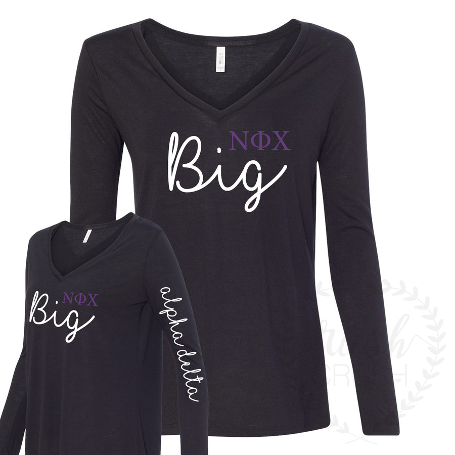 Nu Phi Chi Big Little Tee