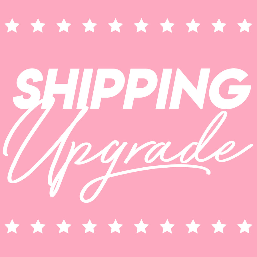 Shipping Upgrades for Rush Crush Orders