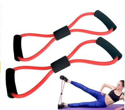 Resistance Band Leg Exercise