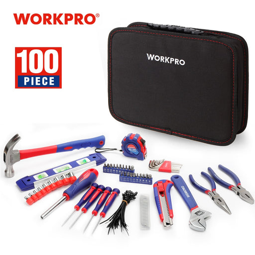 WORKPRO 100PC Household Tool Set