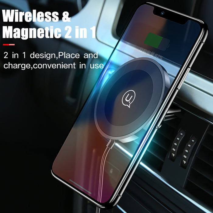Wireless Charging Magnetic Phone Mount