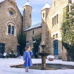 Winter School Days in Blue