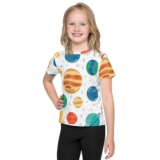 Planets Seamless Pattern All-Over - Kids T-Shirt