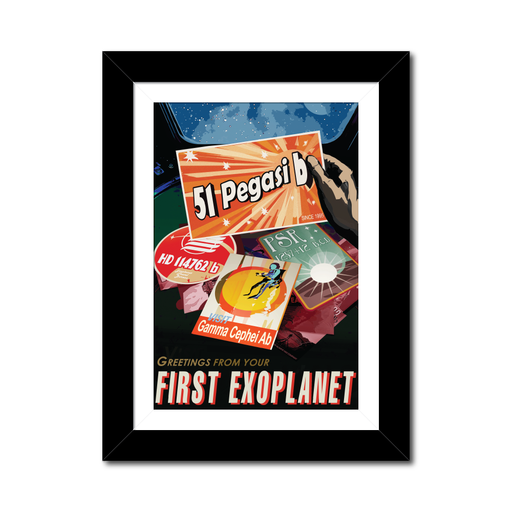 "NASA Travel Posters - The Exoplanets ""Your First Exoplanet"""