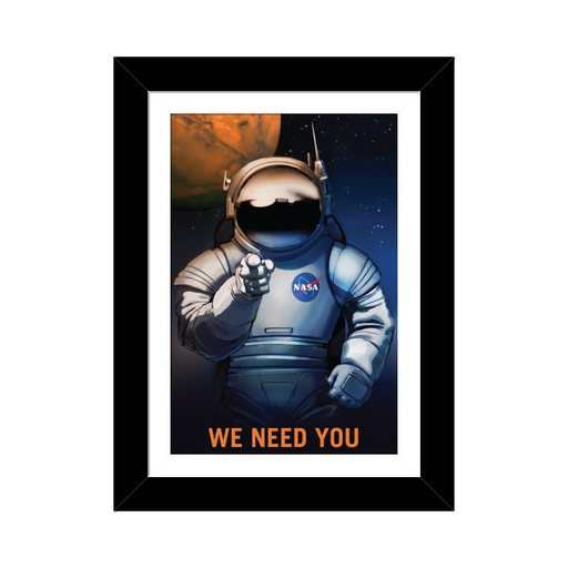 "NASA Mars Recruitment Poster - ""We Need You"""