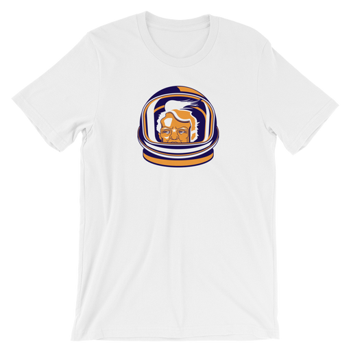 "Space Force T-Shirt ""Space Cheeto"" - Short-Sleeve Unisex T-Shirt (White)"