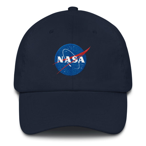 "NASA ""Meatball"" Logo - Classic Unstructured ""Dad"" Hat (Navy)"