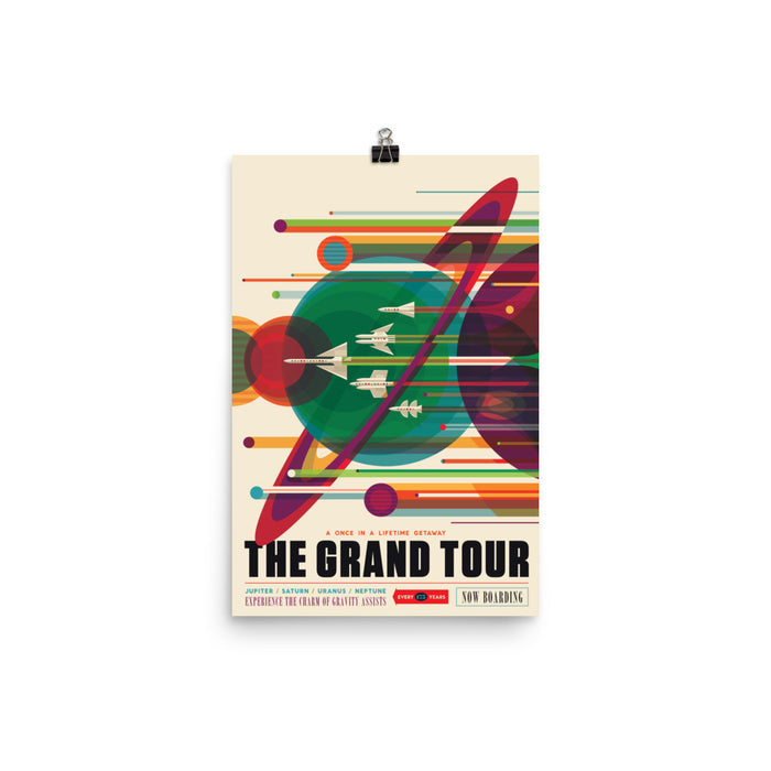 "NASA Travel Posters - ""The Grand Tour"""