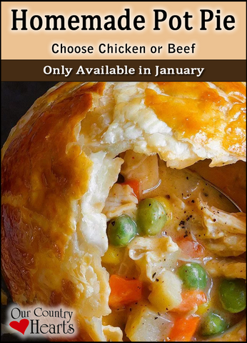 January 2021 Homemade Pot Pie