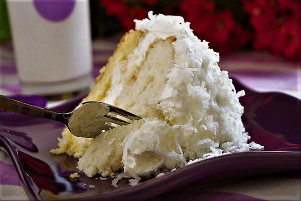 Coconut Cake only in April