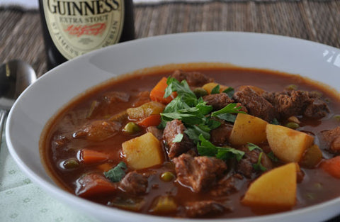 Guinness Irish Stew at Our Country Hearts Restaurant only until March 17