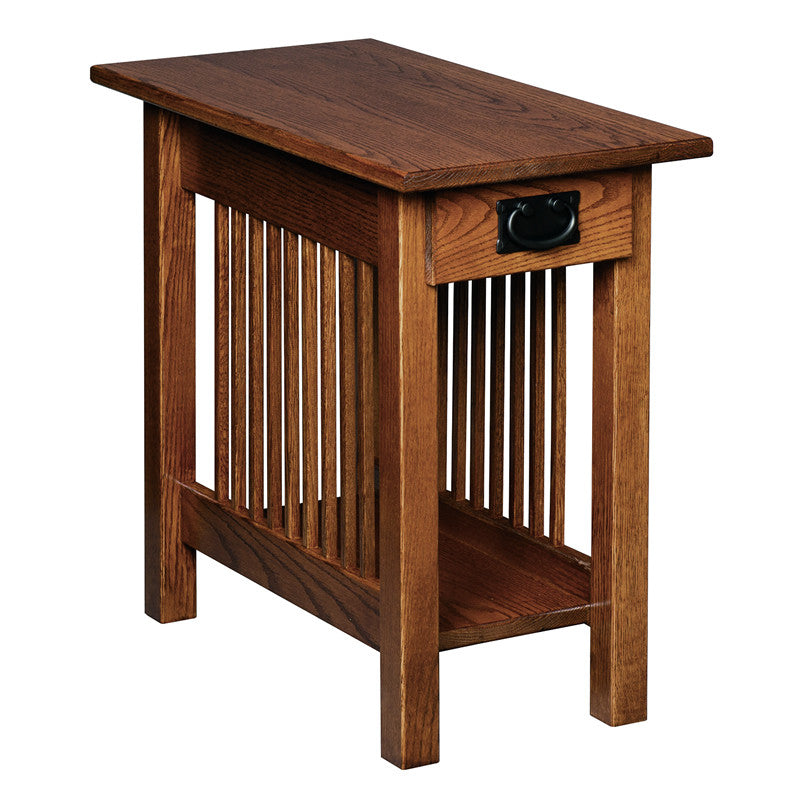 Mission Chairside End Table with Drawer (V16 #31)