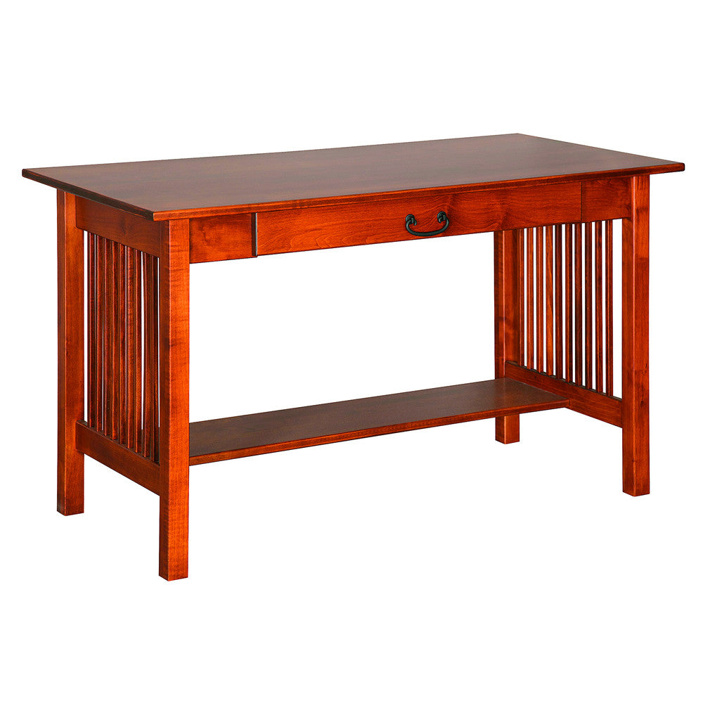 Mission Library Desk Table in Maple (V16 #32-M)