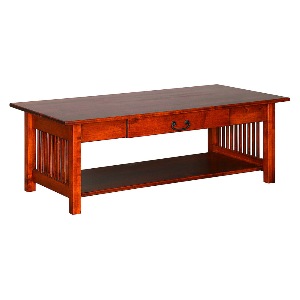 Mission Large Coffee Table In Maple (V16 #45 M)