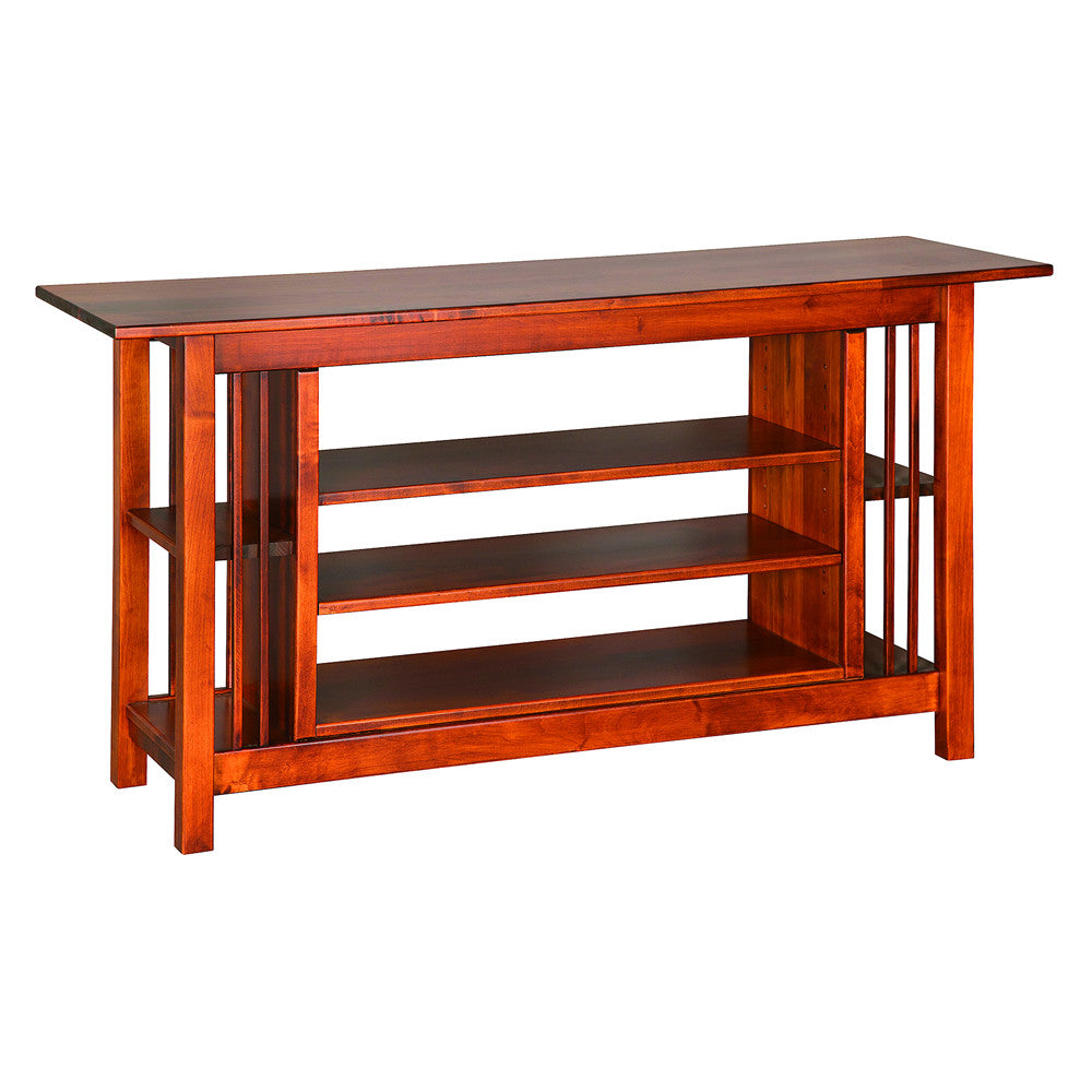 Mission Large Entertainment Table in Maple (V16 #89-M)