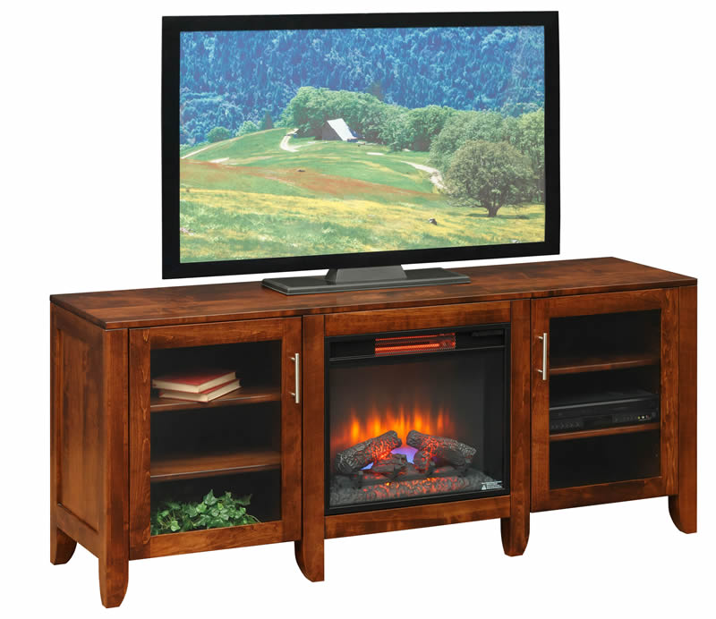 TV Stand with Fireplace (Mt Pleasant #1050)