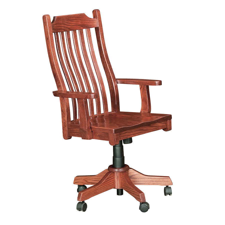 Mission Office Desk Chair (V16 #135)