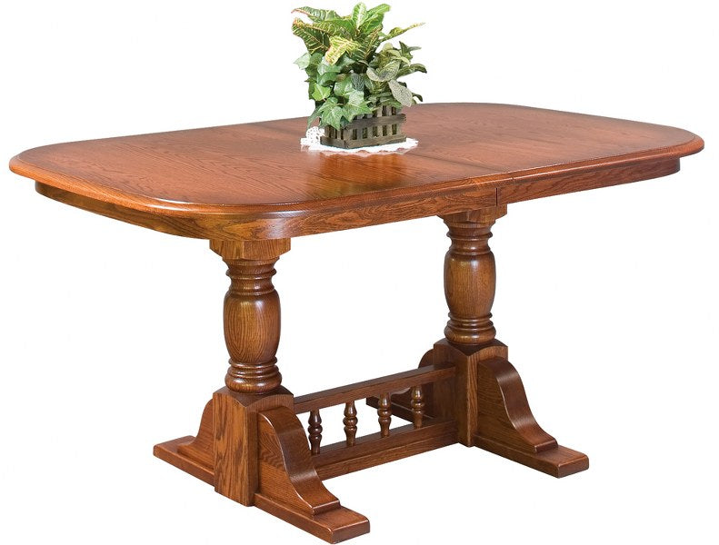 Innkeeper's Double Pedestal Table (Zimmermans #146)