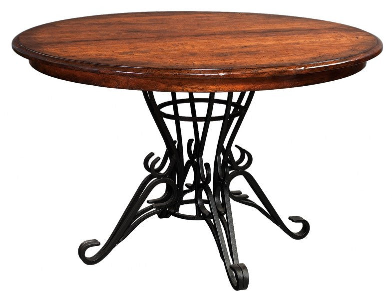 Iron Pedestal Extension Table (Zimmermans # 152)