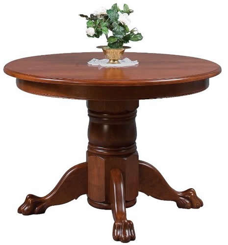 Colonial Pedestal Extension Table (Zimmermans # 154)