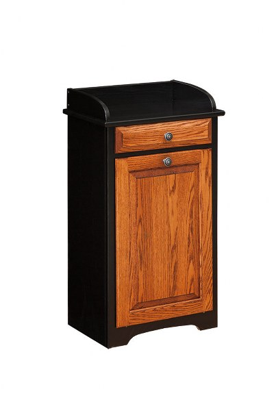 Trash Bin with Drawer (V10 #165B)