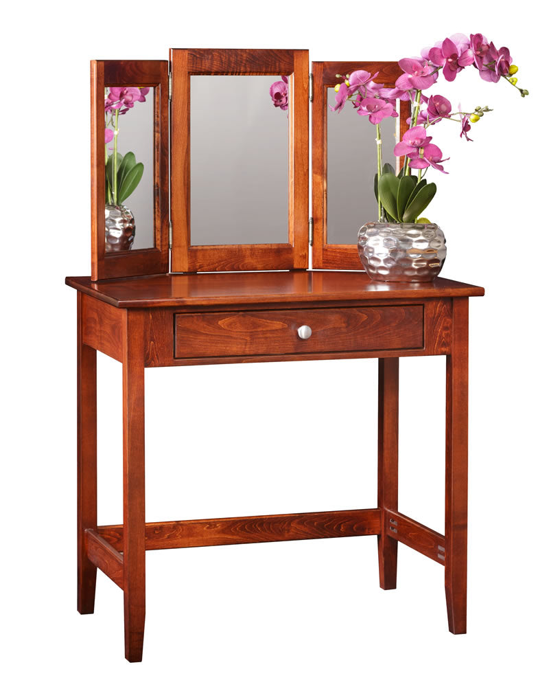 Vanity Table w/Lower Mirror (Mt Pleasant #1801)