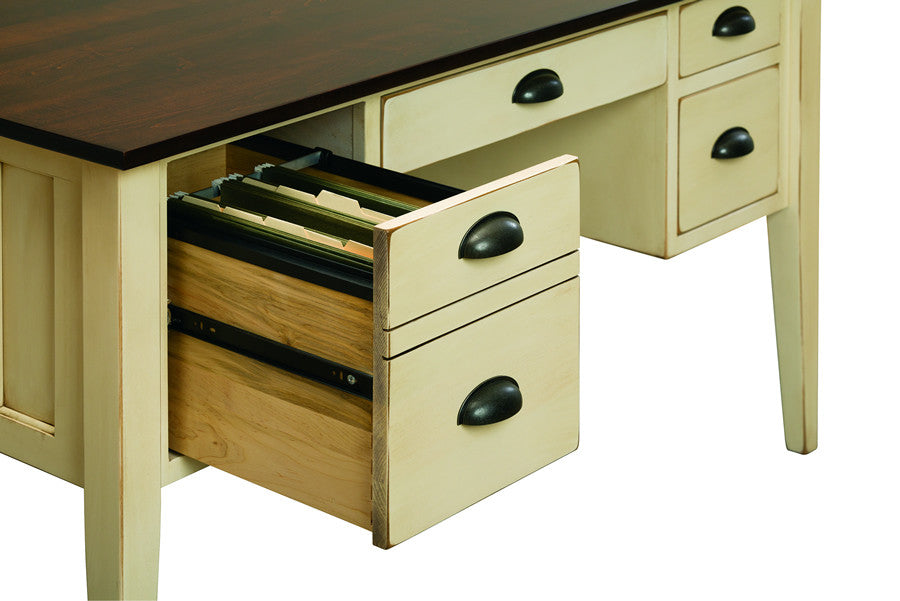 "Mission 55"" Executive High-Leg Desk (V16 #180)"