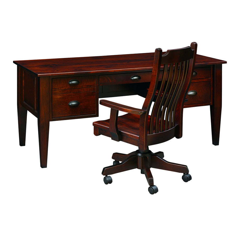 "Mission 66"" Executive High-Leg Desk (V16 #181)"