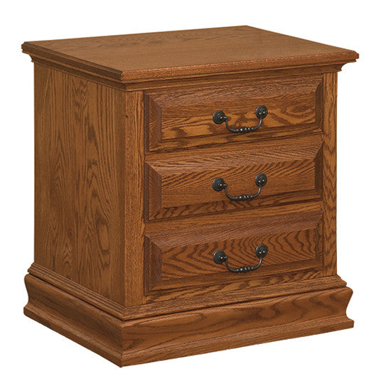 Royal 3-Drawer Nightstand (OCH #6-RO)