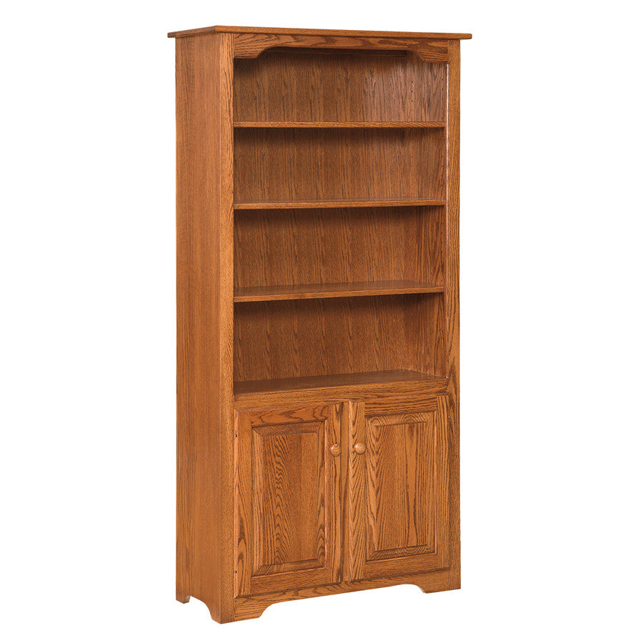 Bookcase with Doors on Bottom (OCH #95)