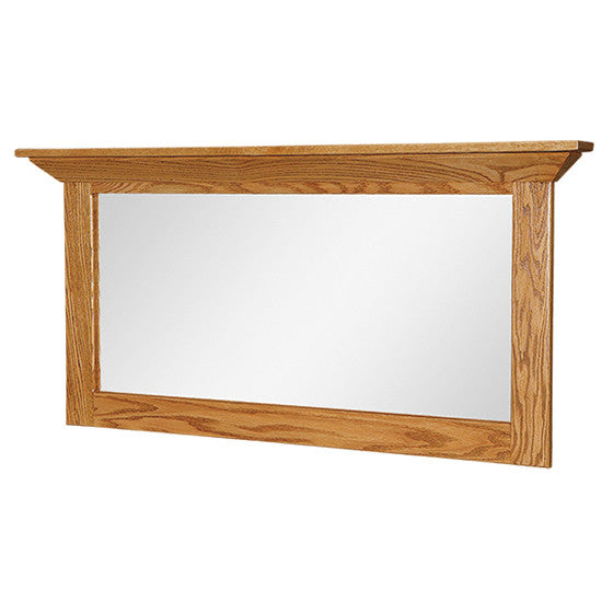 Shaker Wide Hanging Mirror (OCH #617)