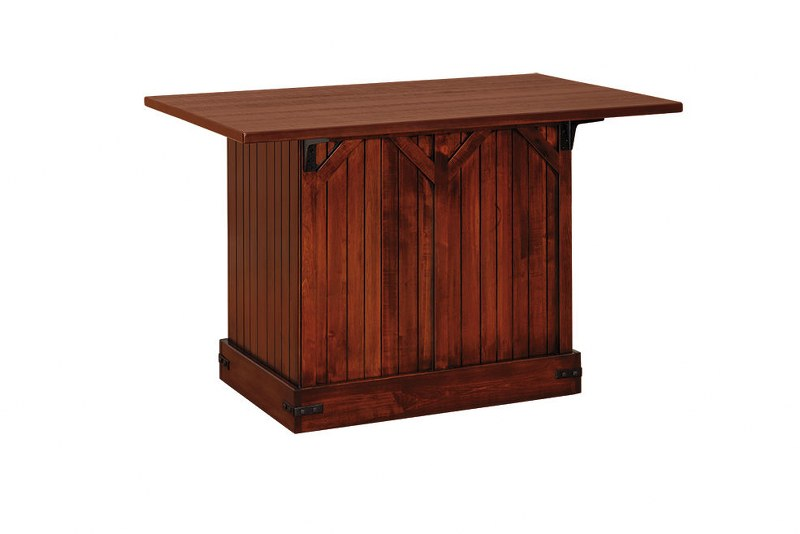 Barn Door Kitchen Island (V10 #195)
