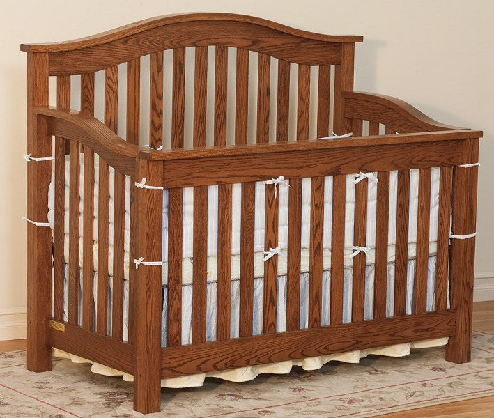 Arched Top Convertible Crib (FQP #201)
