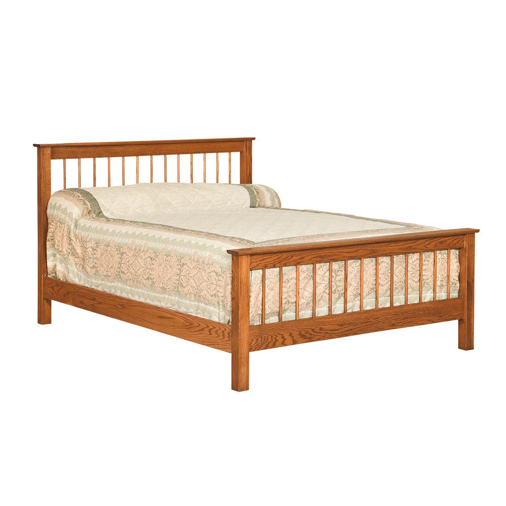 Shaker Spindle Bed (OCH #54)