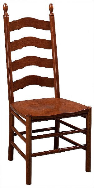 French Country Ladder Back Side Chair (Zimmermans #23)