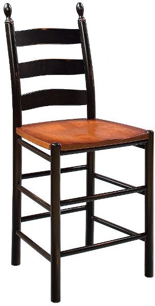 Shaker Ladderback Counter Chair (Zimmerman #2724 & #2730)