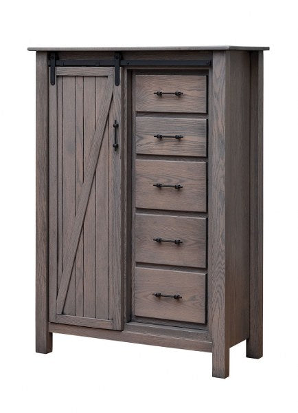 Barn Door Chest of Drawers (V10 #244)