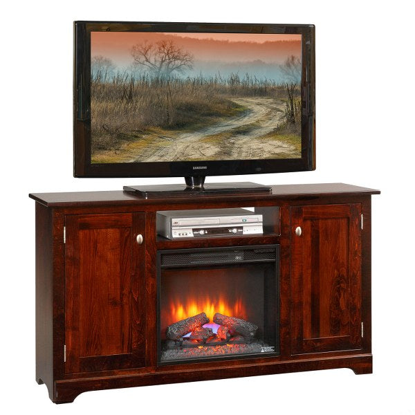 "TV Stand with 23"" Fireplace (Mt Pleasant #252)"