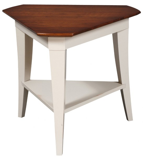Stratos Triangle End Table (Zimmermans #2856)