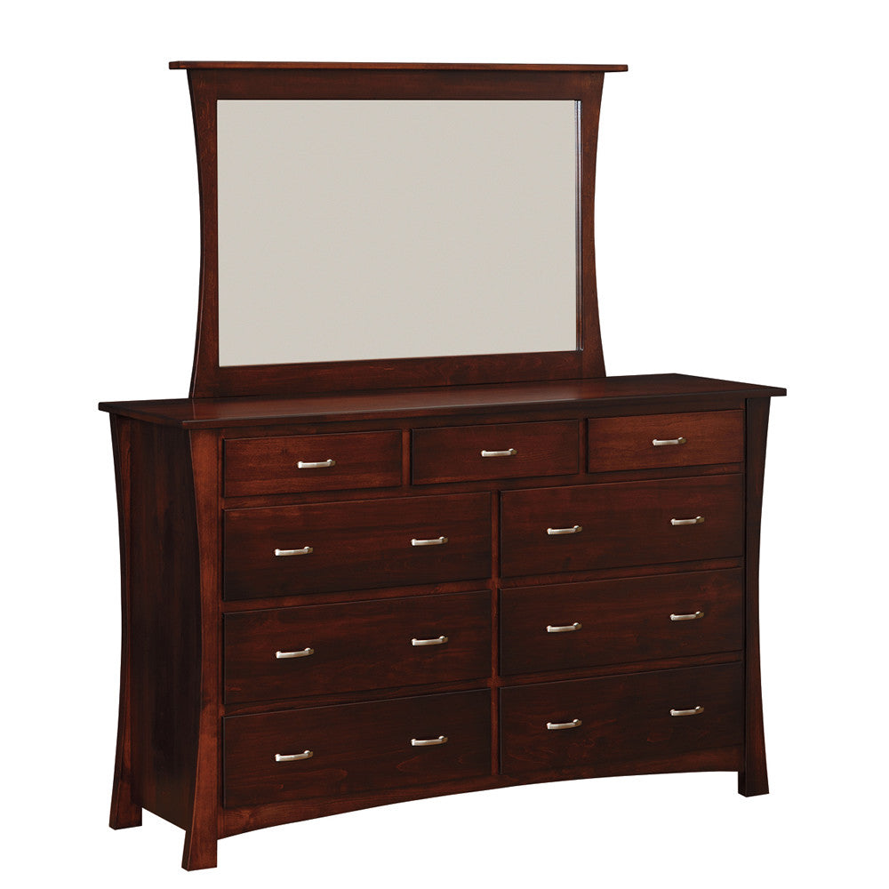 "Oxford 66"" Mule Chest with Mirror (OCH #301-OX + #773-OX)"