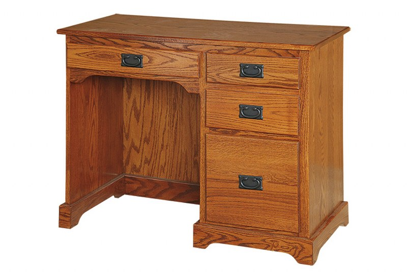 Flat Top Single Pedestal Desk (SFK #039)