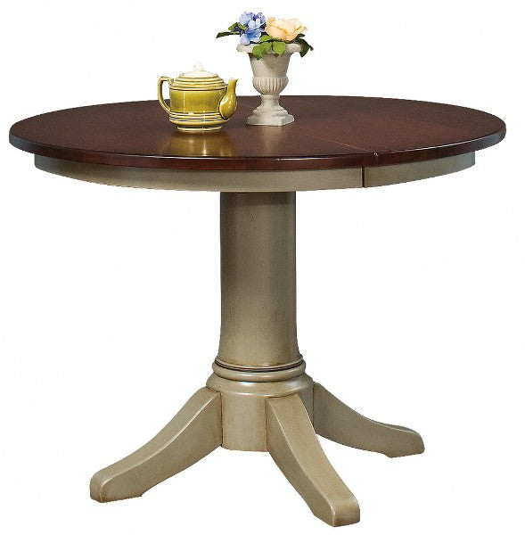 Hawthorne Single Pedestal Extension Table (Zimmermans #3100 / #3102)