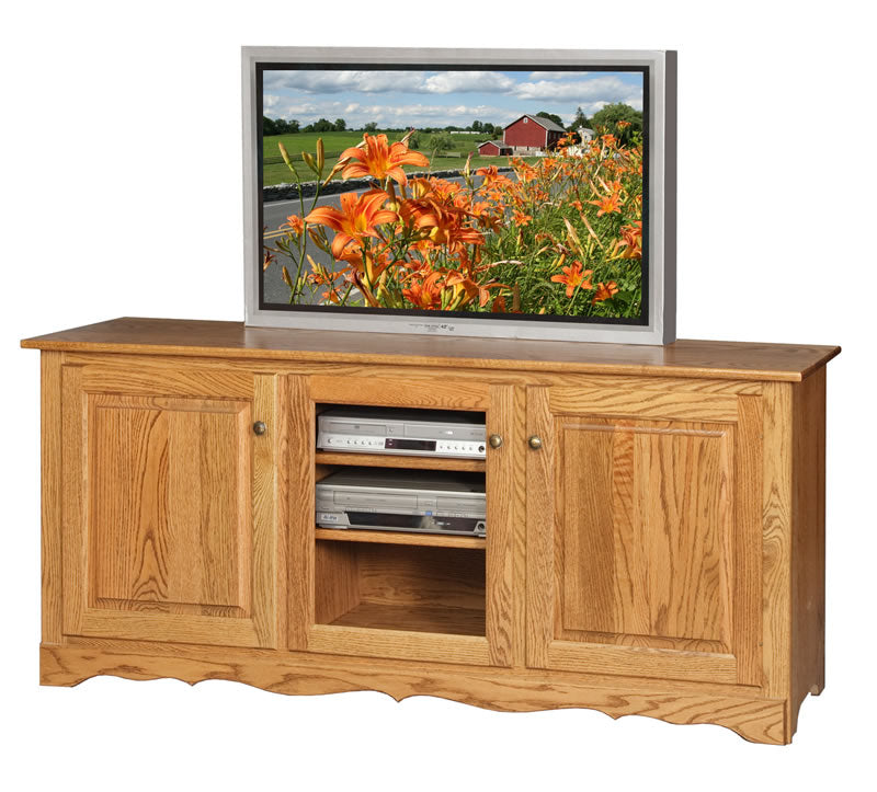"68"" TV Stand with Hutch Top (Mt Pleasant #365)"